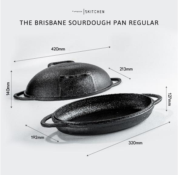 The Brisbane Sourdough Pan Regular Size