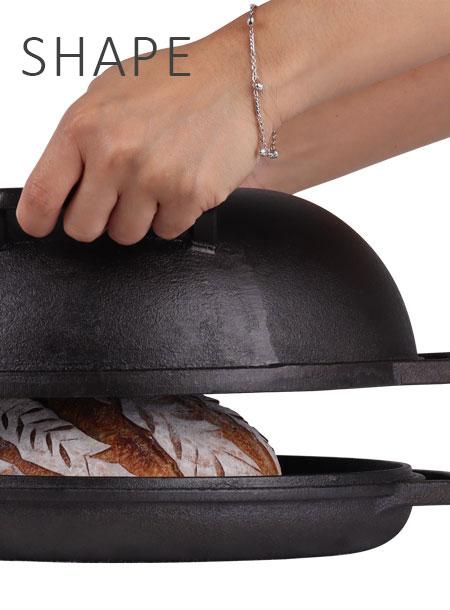 Shape of Bread Pan creates better Sourdough