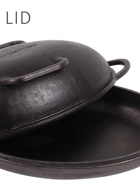 Cast Iron Lid of Brisbane Sourdough Pan