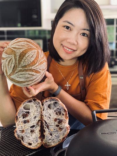 Melya Suryanto Sourdough Baker